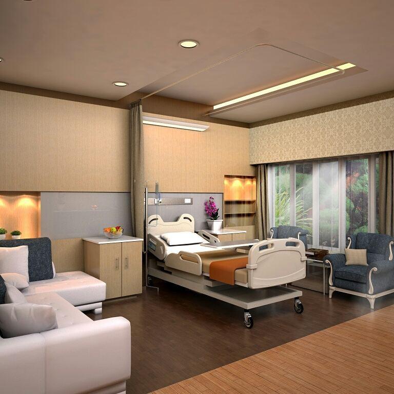 jasa desain interior rumah sakit
